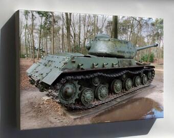 Canvas 24x36; Is 2 Iosif Stalin Tank Pic2