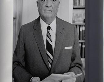 Canvas 16x24; J. Edgar Hoover Fbi