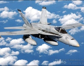 16x24 Poster; Fa-18 Hornet - Copy