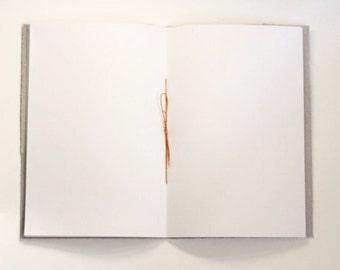 Handmade Pamphlet Stitch Journal, Hand Bound Notebook, Art Journal, Hand Stitched, Soft Cover