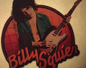 Billy Squier Vintage Image T-shirt