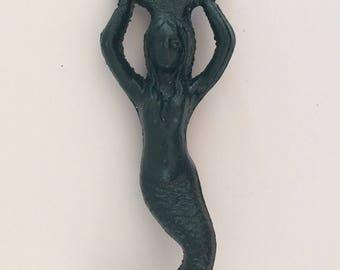 Cast iron mermaid bottle opener
