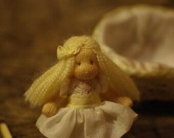 Waldorf doll Thumbelina// Tiny doll // Miniature doll // OOAK doll
