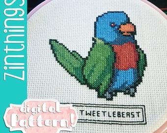 Cross Stitch: Tweetlebeast