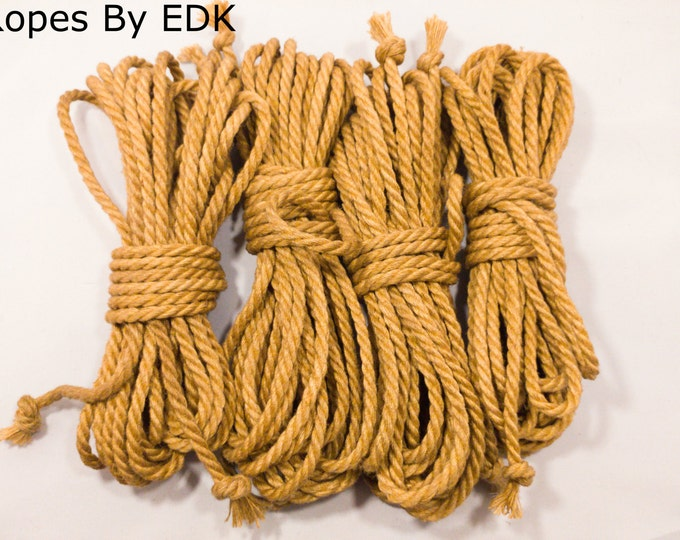 Jute Bondage Rope Beginnners Kit