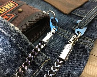 Wallet chain SWC-07 / Bi-Swivel