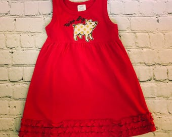 Arkansas Razorback Dress