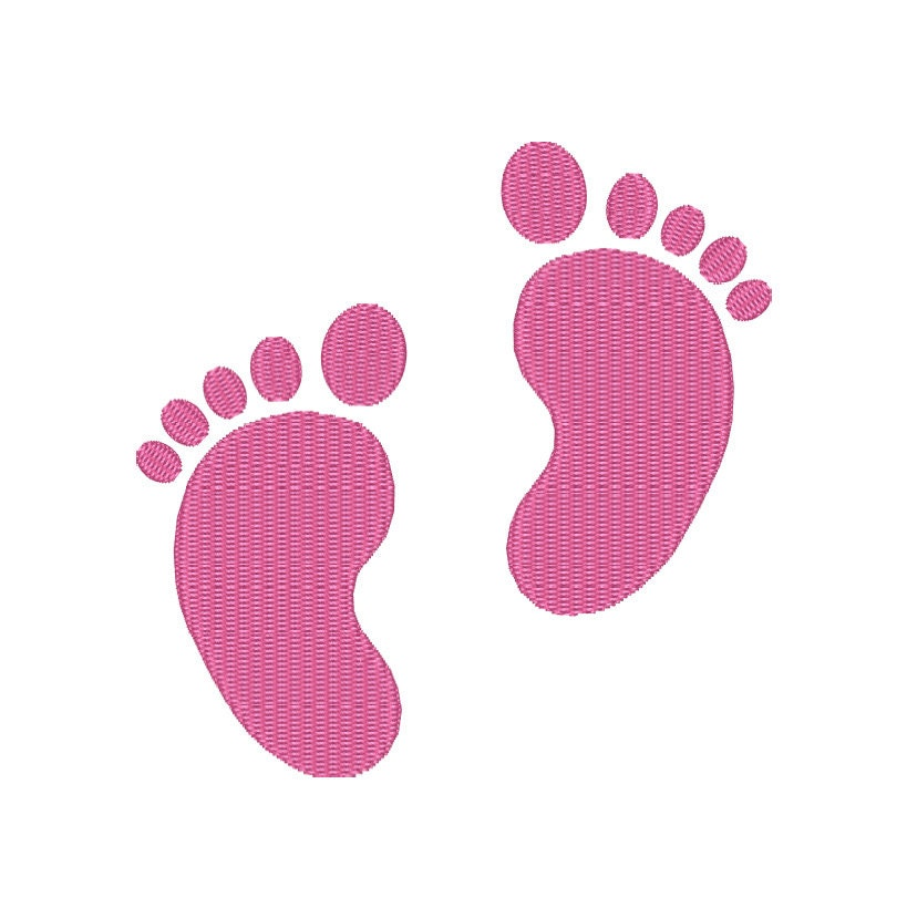 Baby Feet Embroidery Design Machine Embroidery Baby