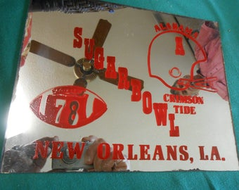 Alabama Crimson Tide 1978 Sugar Bowl MIRROR