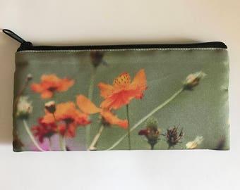 Pencil Case, Wild Flowers