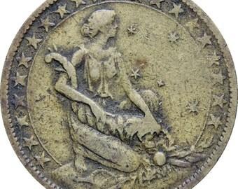 1925 Brazil 1000 Reis Coin