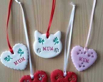 Mum Clay Tags (For that special Mum for any occasion)