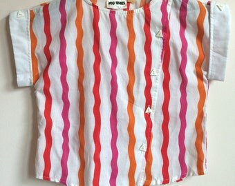SOLD OUT! 80s\\Striped Top
