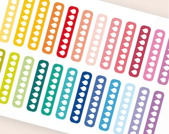 24 water stickers, hydration stickers, water tracker, planner stickers, drink up stickers, fitness sticker eclp filofax happy planner kikkik