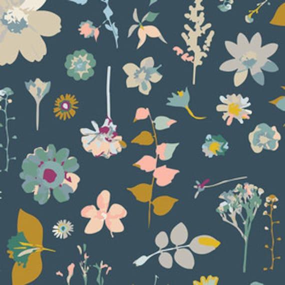 Boppy Cover >> Garden Dreamer Diamond in Blue >> Boppy Newborn Lounger Nursing Pillow >> MADE-to-ORDER navy floral boppy, blue garden boppy
