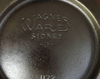 Antique Wagner Ware Scotch Bowl 1173