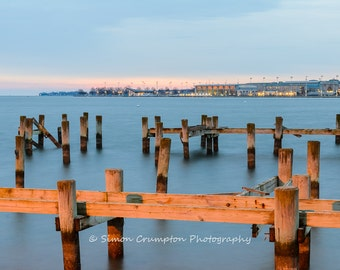US Naval Academy Sunrise - Annapolis - Severn River - Maryland - Fine Art Print - Landscape