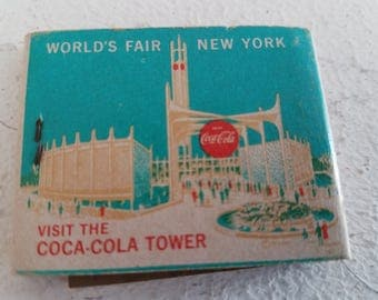 Vintage 1964 Worlds Fair Matchbook