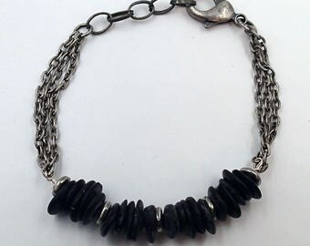 Shelled Out Bracelet - handmade to order in NYC