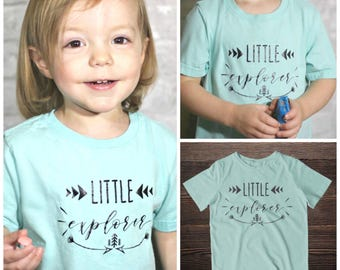 Little Explorer Toddle T-Shirt * Adventure Tee * Toddler Tee