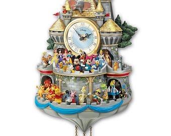 Walt Clock Etsy