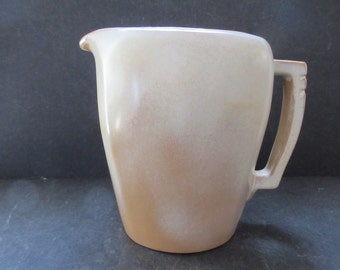 MCM FRANKOMA POTTERY: 1949 Desert Gold Water Pitcher in Mint Condition