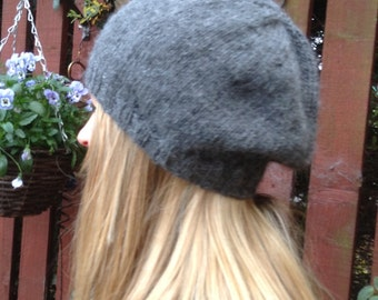 Alpaca slouchy hat
