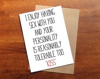 Snarky valentines card, brutal honesty, funny mean valentine's card, valentine's snark, printable valentine, instant download, casual lover