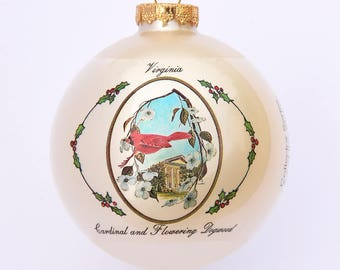 Virginia - Ornament with Art by W.D. Gaither