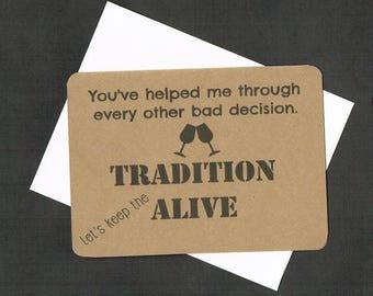 Bridesmaid Card, wedding favor, bridal shower favor, be my bridesmaid card, greeting card