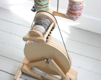 Spinning Wheel - SpinOlution Pollywog - Lightweight Spinning Wheel - Starter Wheel - Free Shipping