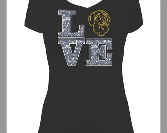 Love Dachshund T-shirt