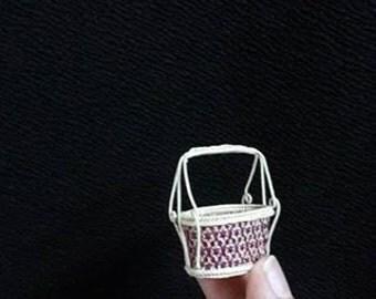 mini basket from Bangkok Thailand