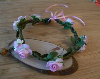 Headband with flowers for Blythe Wreath for Blythe dolls