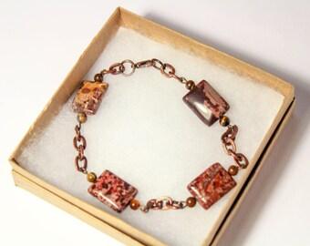 Sedona Bracelet, Boho Bracelet, Boho, Sedona, Bohemian Jewelry, Quartz, Quartz Bracelet, Copper Bracelet, Copper, Sedona Jewelry, Nature