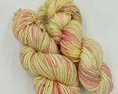 Hand dyed yarn - 8 Ply DK - The Grass Is Ris