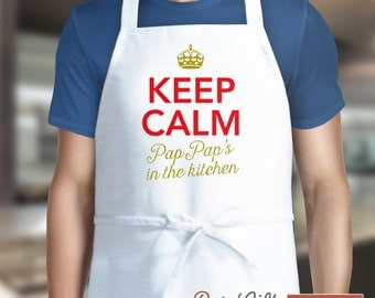 PapPap Gift, Personalized PapPap Gift, Awesome PapPap, PapPap Birthday, Cooking Gift, PapPap's In The Kitchen, Alternative PapPap Shirt!