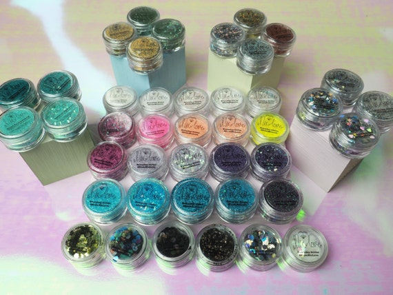NicLove's Whole Cosmetic Face Glitter Range
