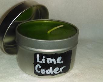 Lime Cooler Tin