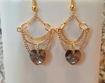 Sale // Elegant chandelier earrings