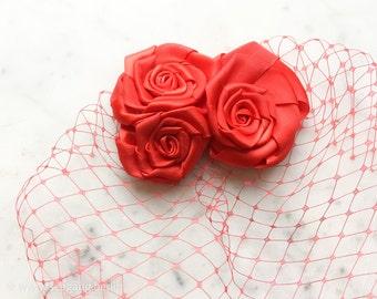 Red Roses Veil
