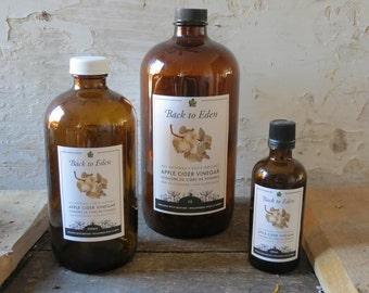Apple Cider Vinegar Organic With Mother