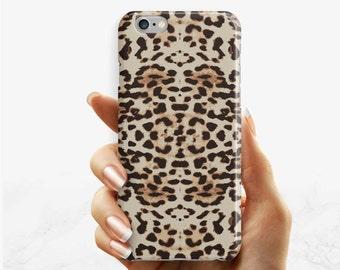 Leopard Print phone case, iPhone 7 6 6s Plus phone case leopard iPhone SE 5 5s phone case, Samsung Galaxy S7 Edge S6 S4 S3 phone case