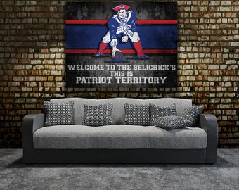 Patriots Wall Art patriot | etsy