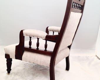 Vintage Edwardian Armchairs