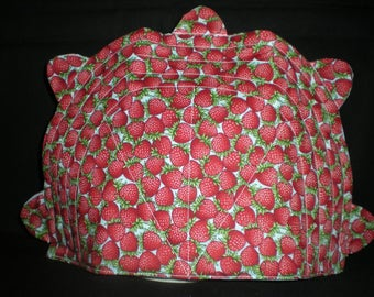 Quilted Tea Cozy - Strawberries
