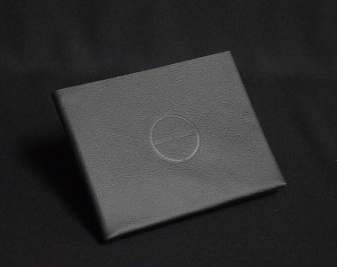 8-Pocket Wallet - Black - Kangaroo leather with RFID credit card blocking - Handmade - James Watson