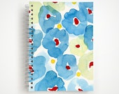 SALE | Blue Floral 5x7 Notebook | Journal | Studio Carrie Notebook | Gift
