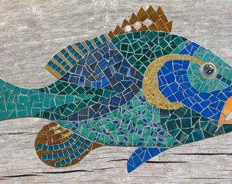 Mosaic fish #8