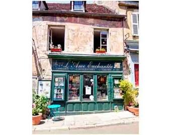 Paris Photograph - Paris Bookstore - Fine Art Photograph - Home Decor-French Photography - Paris - Books - Shakespeare in Paris france